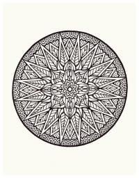 Узоры в круге 2 класс - 1d57