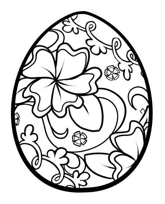 Узоры для пасхальных яиц Картинки антистресс раскраски