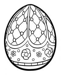 Узоры для пасхальных яиц с цветами Картинки антистресс раскраски
