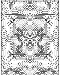 Сложный узор Картинки антистресс раскраски