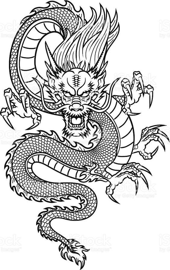 Злой дракон с когтями Раскраски для взрослых скачать