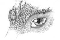 Глаз дракона Раскраски для взрослых скачать