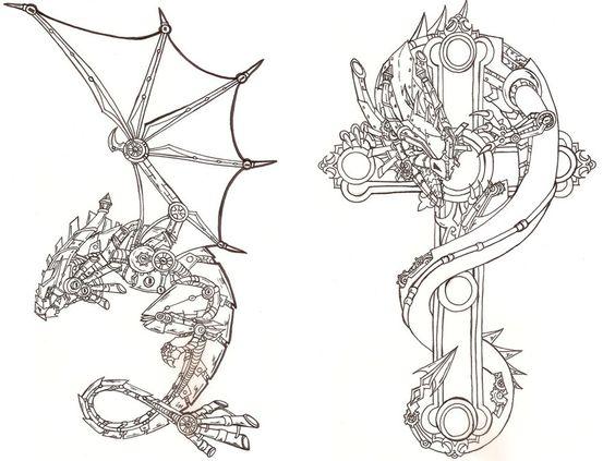 Дракон Дракон на кресте Раскраски для снятия стрессаАнтистресс онлайн
