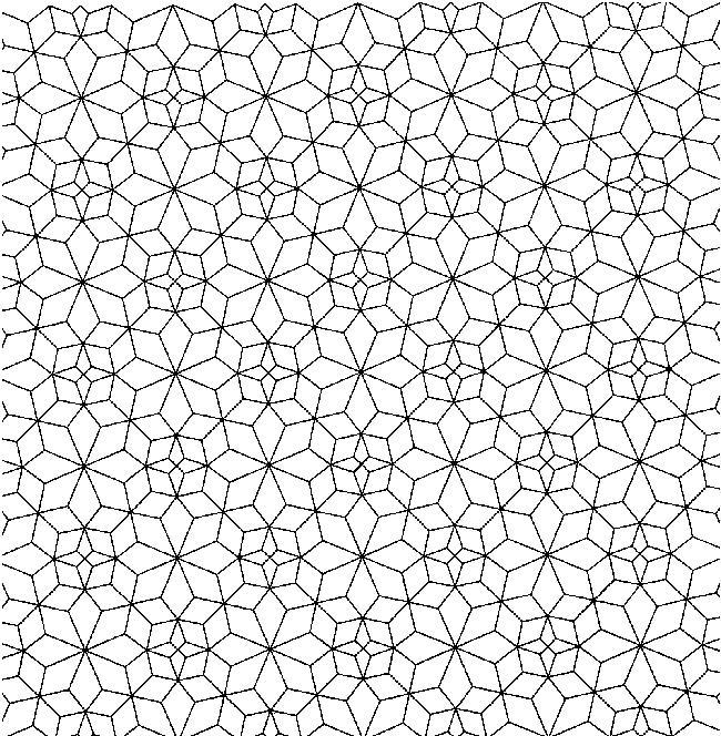 Узоры из четырехугольников Раскраски для медитации