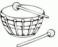 Барабан Раскраски для взрослых скачать
