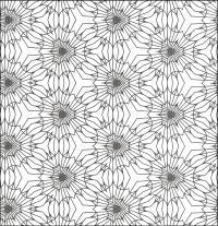 Цветы Раскраски для медитации