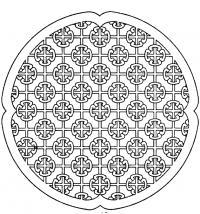 Узоры в узоре Раскраски для медитации