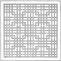 Квадраты и прямоугольные формы Раскраски антистресс распечатать