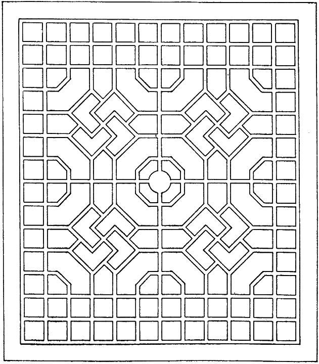 Формы геометрические Онлайн раскраски в хорошем качестве антистресс