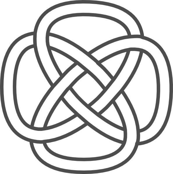 Узор простой бесконечный Раскраски антистресс а4
