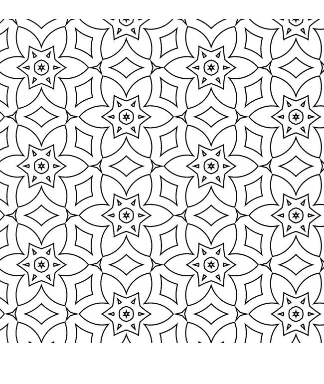 Повторяющиеся цветы Раскраски антистресс фото