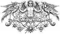 Ангел с птицами Раскраски антистресс распечатать