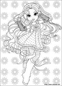 Девочка выступает Раскраски для взрослых антистресс