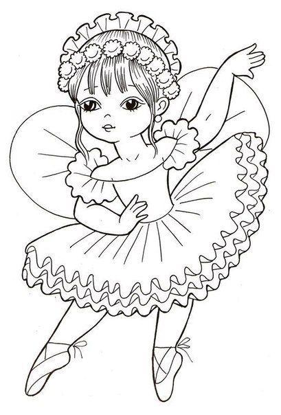 Маленькая балерина Раскраски для взрослых скачать