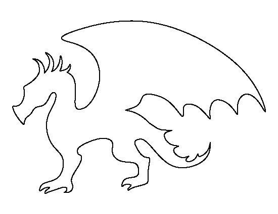 Контур дракона Картинки антистресс раскраски