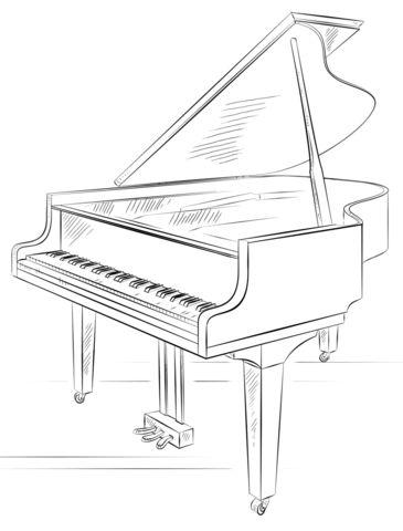 Рояль Раскраски для взрослых скачать