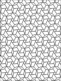 Повторяющийся геометрический узор Картинки антистресс раскраски