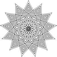 Звезда Онлайн раскраски в хорошем качестве антистресс
