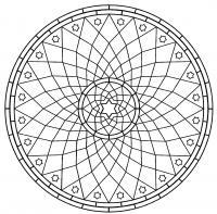 Геометрия Скачать сложные раскраски