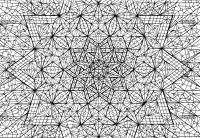 Мега звезда геометрия Раскраски для медитации